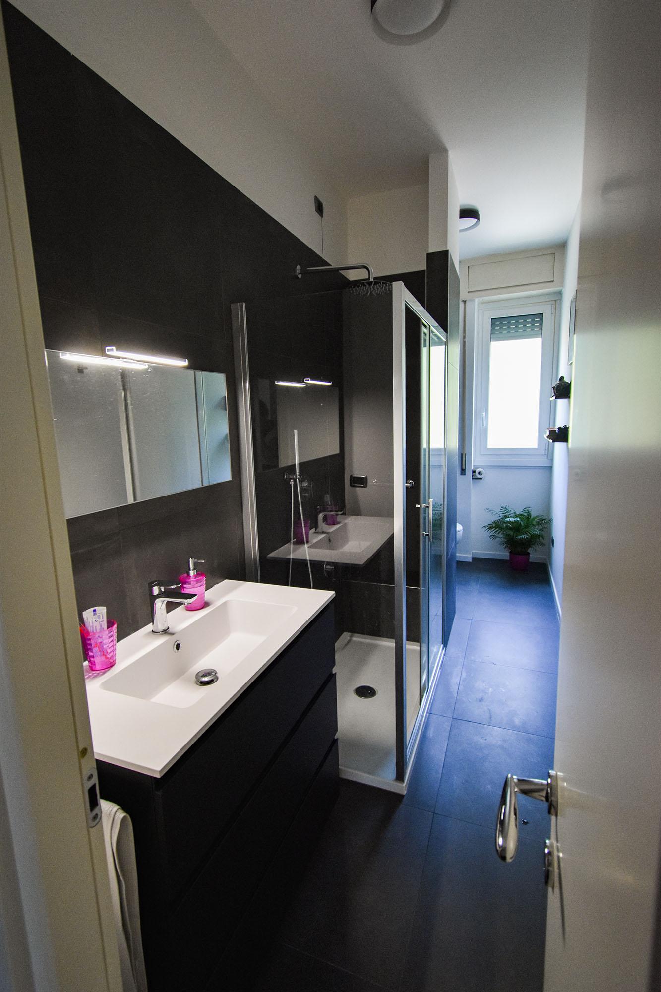 bagno design bianco e nero (2)